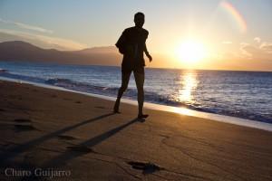 Fotografía al amanecer