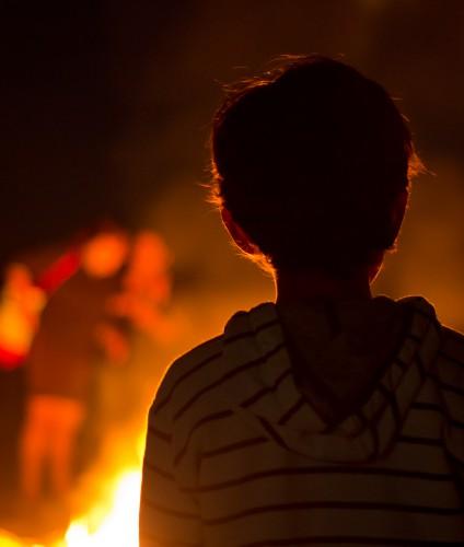 A fuego